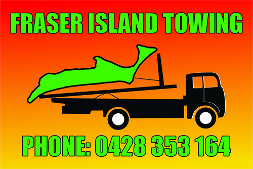 Fraser Island Towing